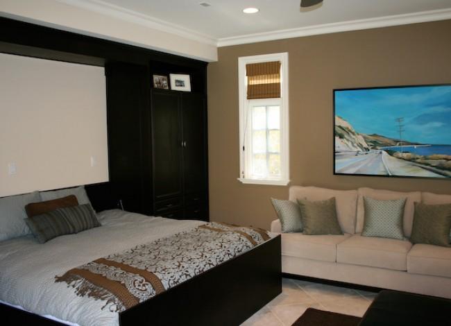 custom materials, art, fabrics, guest room, Westwood