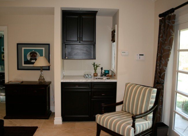 kitchenette at guest room, entertainment, Sub-zero, Westwood