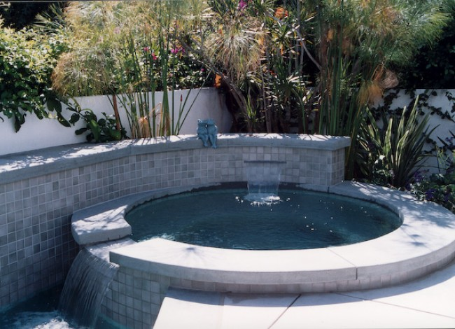 hot tub and spa, beautiful natural landscape