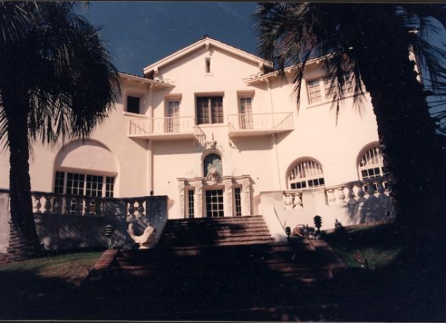 Los Feliz historical estate, unique site and program, remodel