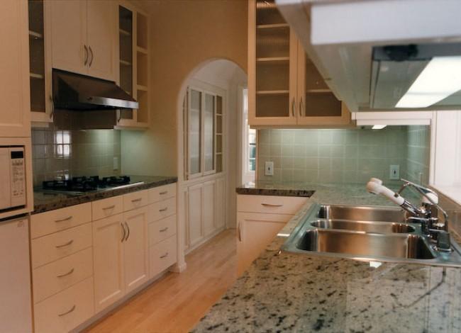 Kohler, Sub-Zero, remodeled kitchen existing planning, Beverly Hills