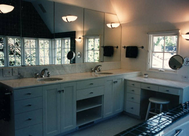 marble countertops, decorative lighting, Master Bath, Beverly Hills